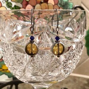 Earrings by Crystal Diane Studios